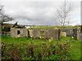 H2381 : Ruined dwelling, Ganvaghan Hemphill by Kenneth  Allen