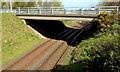 J0053 : The Northway railway bridge, Portadown - April 2014(1) by Albert Bridge