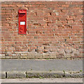 SK7146 : Kneeton postbox ref NG13 115 by Alan Murray-Rust