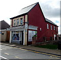 SS9888 : Gilfach Goch off-licence and shop by Jaggery