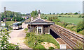 SP4932 : Aynho station (remains), 1992 by Ben Brooksbank