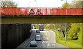 J0053 : Footbridge, the Northway, Portadown (April 2014) by Albert Bridge