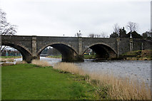NT2540 : Tweed Bridge, Peebles by Mike Pennington