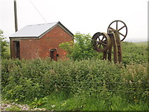 SU0664 : Disused Pump, Harepath Farm by Chris Andrews