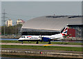 TQ4380 : London City Airport - 10 April 2014 (6) by The Carlisle Kid