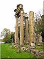 SU9768 : Leptis Magna ruins, Virginia Water (2) by Stephen Craven