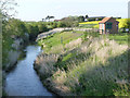 SK7845 : River Devon at Wensor Bridge by Alan Murray-Rust