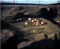 SD9617 : Quarry near Blackstone Edge Reservoir on Pennine Way by Clint Mann