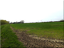 TM3569 : Loves Lane footpath to Mill Hill by Geographer
