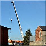 J3774 : Fuel tank delivery, Strandtown, Belfast - April 2014(2) by Albert Bridge