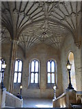 SP5105 : Top of the staircase at Christ Church, Oxford by pam fray