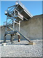 TV5595 : Viewing platform and steps at Birling Gap by Andrew Diack