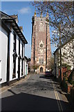 ST0207 : Cullompton: Church Street by Martin Bodman