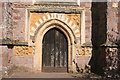 ST0207 : Cullompton: west door, St Andrew's Church by Martin Bodman