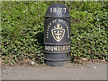 SK5447 : Boundary Marker, Bestwood by Alan Murray-Rust