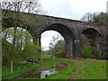 NY6228 : Crowdundle Viaduct by John H Darch
