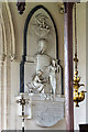 SP1614 : St Mary Magdalene church, Sherborne: Princess Bariatinsky monument by Mike Searle