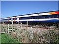 SK2928 : A train to Derby by Ian Calderwood