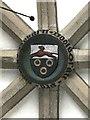 NZ2464 : The Church of St. John the Baptist, Grainger Street, NE1 - coat of arms by Mike Quinn