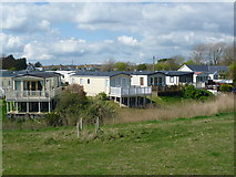 TQ9418 : Frenchmans Beach Holiday Park by Marathon