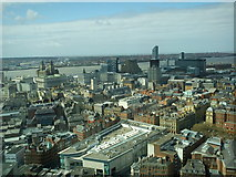 SJ3490 : Liverpool and The Mersey from Radio City Tower by ruth e
