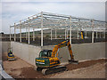 SD4970 : Aldi Carnforth taking shape by Karl and Ali