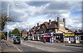 TQ0886 : Shops on Ickenham Road by Des Blenkinsopp