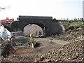 NT3660 : Bridge over the Borders Railway by M J Richardson