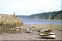 SS3124 : Clovelly Harbour, Devon by Derek Voller