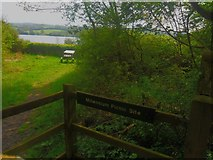 TQ3935 : Millennium Picnic Site, Weirwood Reservoir by Ed of the South