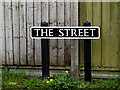 TM4191 : The Street sign by Geographer