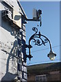 NT9952 : Berwick-Upon-Tweed Townscape : Lamp-bracket And Spycam by Richard West