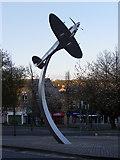 SD6922 : Darwen Spitfire Sculpture by Tom Howard