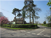 SP0575 : The Peacock on Junction of Icknield Street and Lea End Lane by Roy Hughes