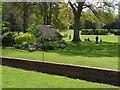 TQ0451 : Ha-ha, Clandon Park by Alan Hunt
