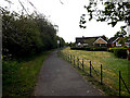 TM4289 : Footpath to Richard Crampton Road by Adrian Cable