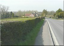 TL8928 : Looking west-northwest along Colchester Road (A1124) by John Baker