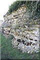 SU6362 : Part of the Wall by Bill Nicholls