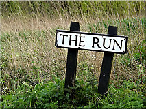 TM4584 : The Run sign by Adrian Cable