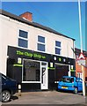 SK4213 : 'The Chop Shop' Hairdressers - Coalville by Anthony Parkes