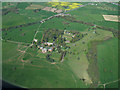SJ7277 : Tabley House from the air by Thomas Nugent