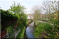 SK9135 : The River Witham, Grantham by Tim Heaton