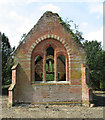 TF9635 : Thursford Castle - the Walsingham Union workhouse chapel by Evelyn Simak