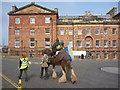 NT6779 : John Muir Festival Dunbar 2014 : Furryboots by Richard West