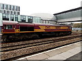 ST3088 : EWS 66003 passes through Newport railway station by Jaggery