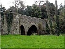 SO3958 : The bridge over the River Arrow, Pembridge by Bikeboy