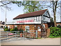 SP2054 : Stratford Boat Club by Chris Whippet