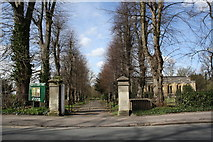 SP5206 : Marston Road entrance to St Clements Church by Roger Templeman