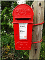 TM4089 : The Bridge George V Postbox by Adrian Cable