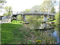 NS4871 : Footbridge over the Forth and Clyde canal by M J Richardson